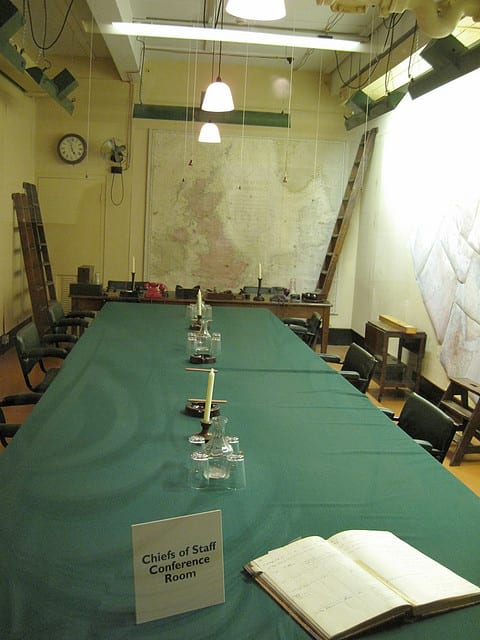 cabinat war rooms London