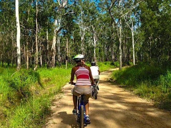 Mountain Biking in Atherton Tablelands, Queensland, Australia