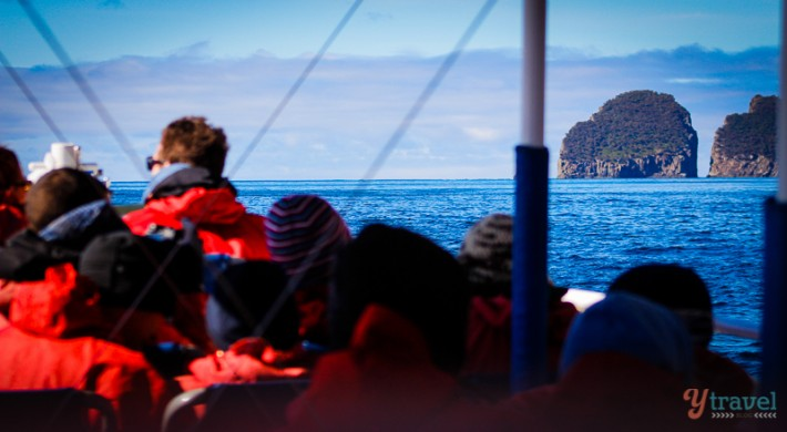 Rob Pennicott tours around Tasman Island