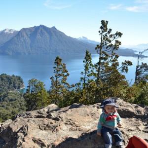 Bariloche, Argentina Climbing Cerro Llao Llao