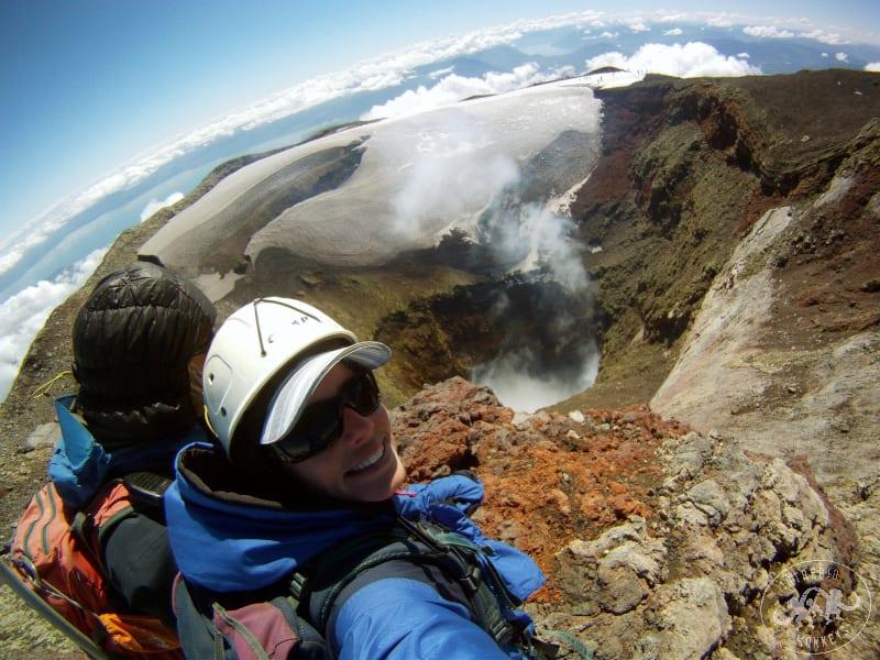 Puco n Chile Volca n Villarrica Climb