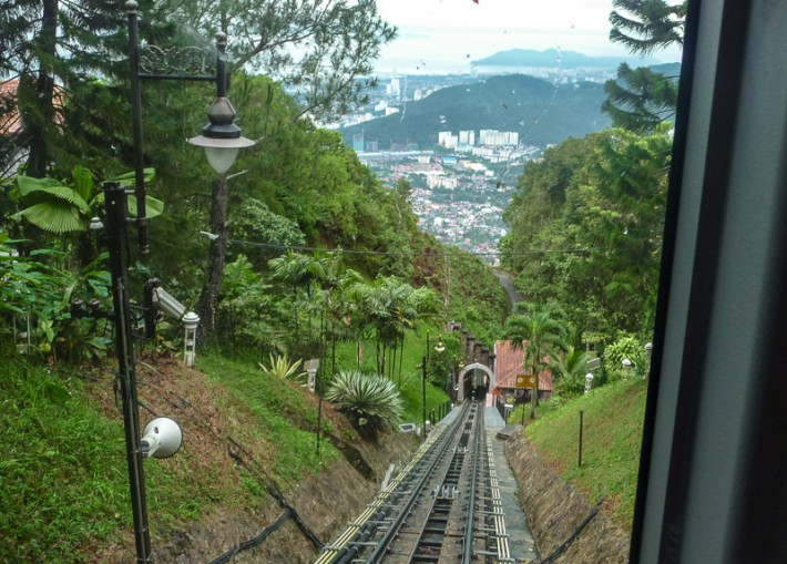 Funicular Railway Penang Malaysia