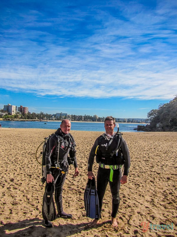 Learn to Scuba Dive at Shelly Beach in Sydney, Australia