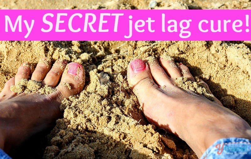 My SECRET jet lag cure + 9 0ther helpful tips in overcoming jet lag!