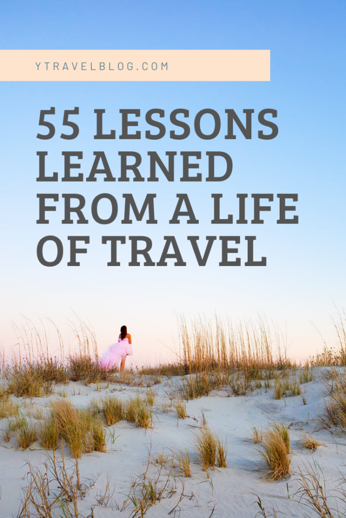 lessons from a life of travel