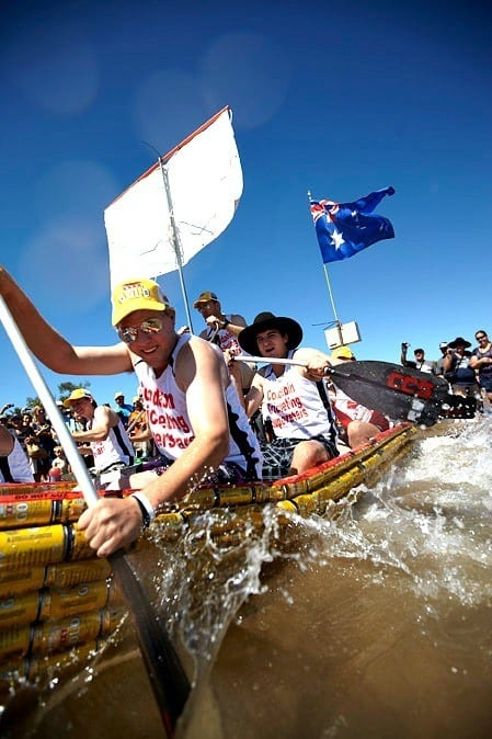 Darwin Beer Can Regatta - Australia