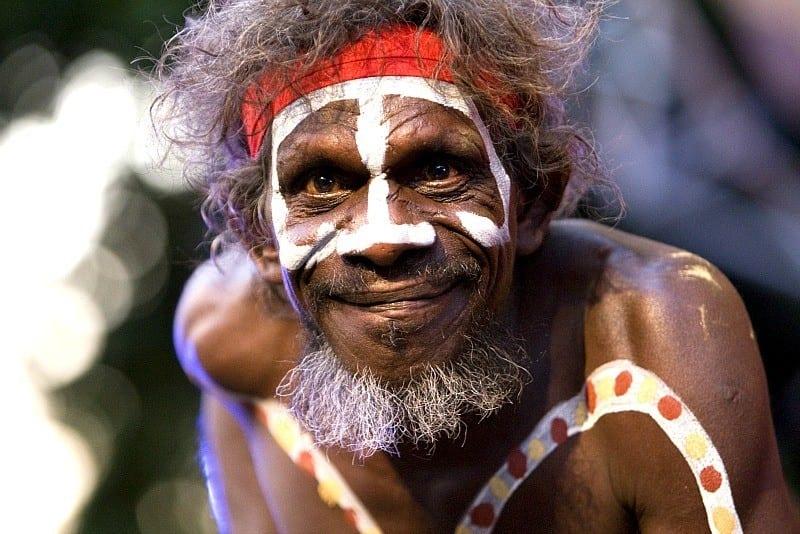 Indigenous Artist, Darwin, Australia
