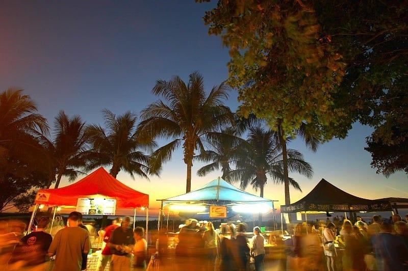 Mindil Beach Markets - Darwin, Australia