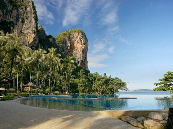 Rayavadee Railay Beach Thailand
