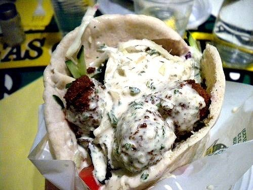Vegan Falafel in Paris