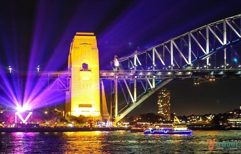 Sydney Harbour Bridge - Vivid Sydney Festival