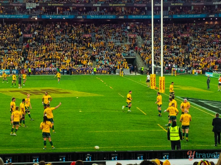 Wallabies vs Lions test 2013