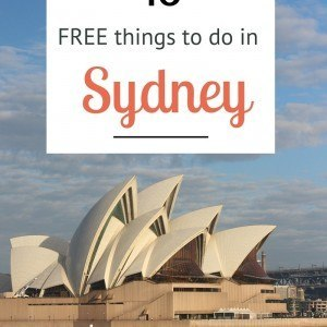 18 FREE things to do in Sydney, Australia. You don't have to break the bank on your visit.