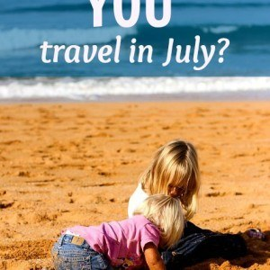 Where did you travel to in July? Come and share on our blog!