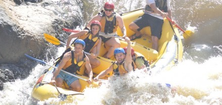 Barron River Cairns white water rafting (1)