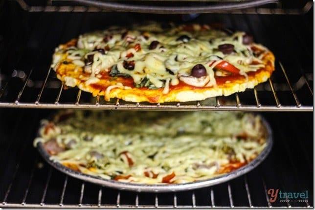 Gluten free pizza 567