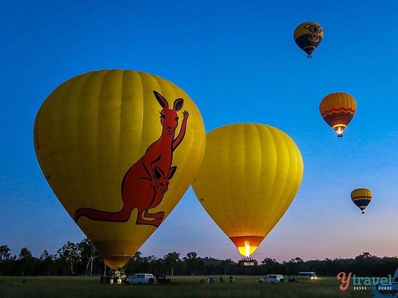 Atherton Tablelands Australia  city images : Atherton Tablelands Hot Air Balloon Ride, Queensland, Australia