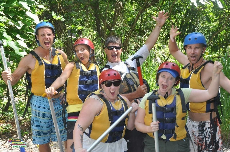 Raging Thunder adventures white water rafting Cairns (2)