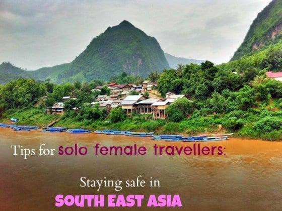 Solo female travel South East Asia