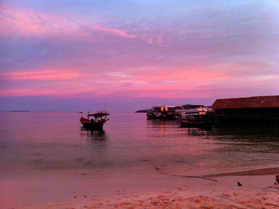 Sunset Ko Krong