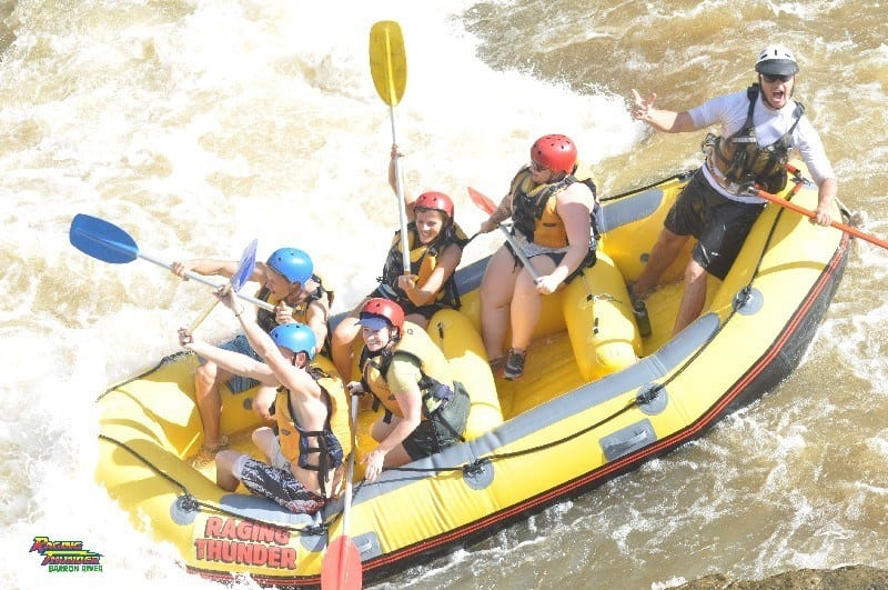 White water rafting Barron River Cairns