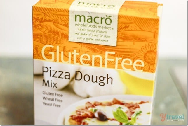 Woolworths Macro Gluten free pizza