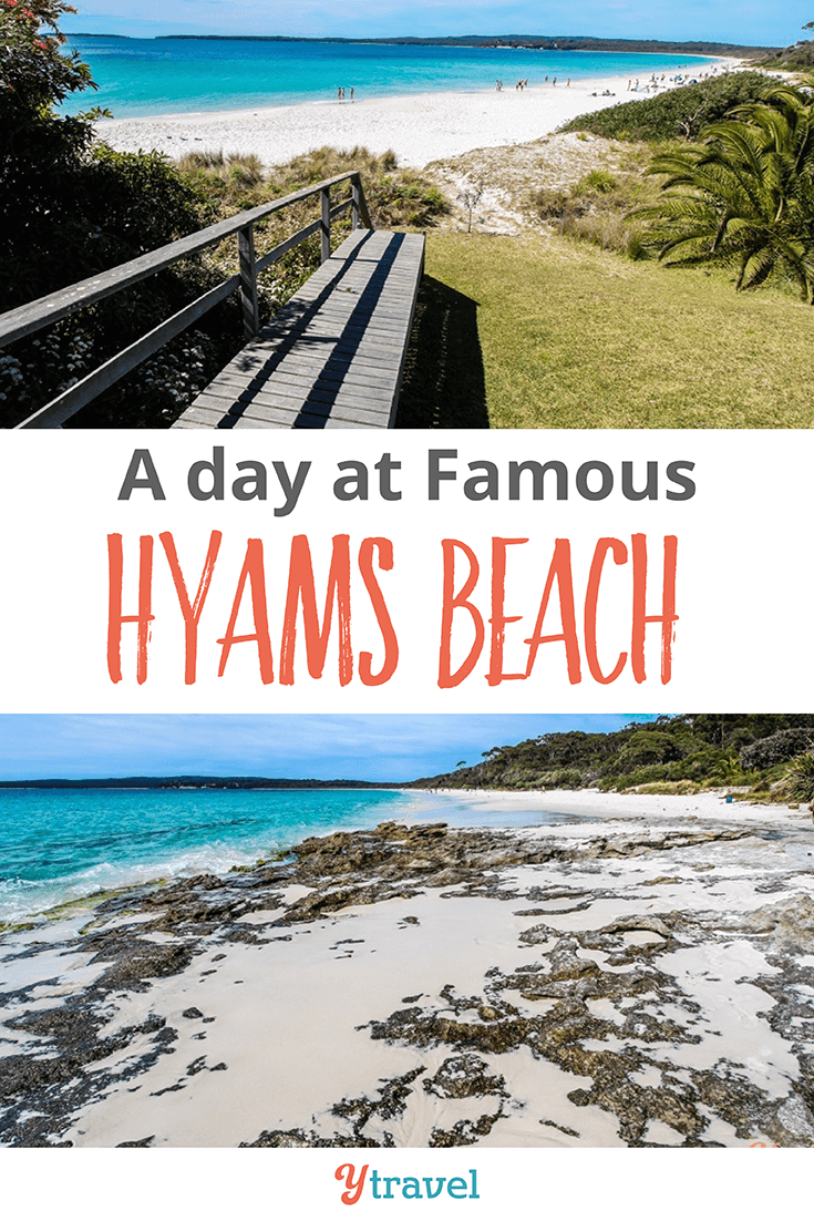 We had a blast at the Famous Hyams beach in Jervis Bay!