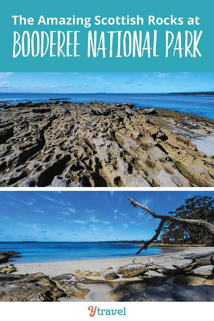 The Scottish Rocks at Booderee National Park in Jervis Bay.
