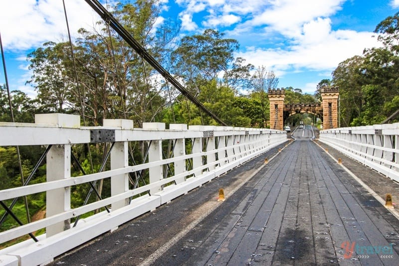 Hampden Bridge, Kangaroo Valley, NSW, Australia