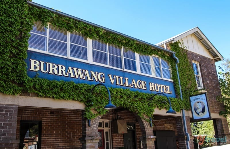 Burrawang Hotel, NSW, Australia