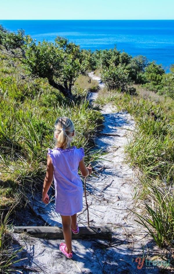 Coastal walk Pretty Beach, Australia
