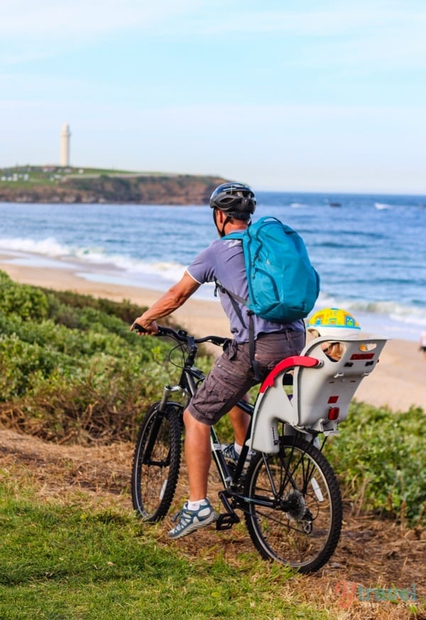 Wollongong beach bike path