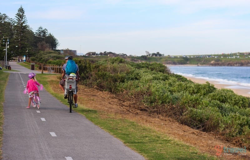Bike path Wollongong