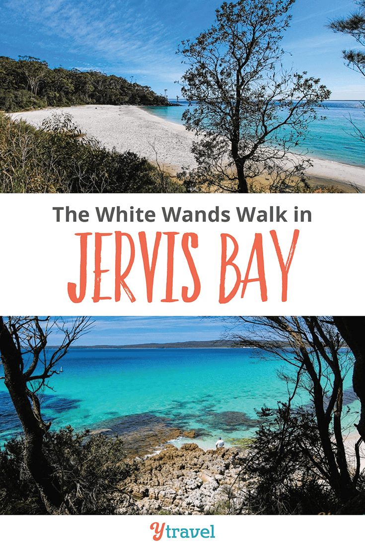 The white sands walk in Jervis Bay.