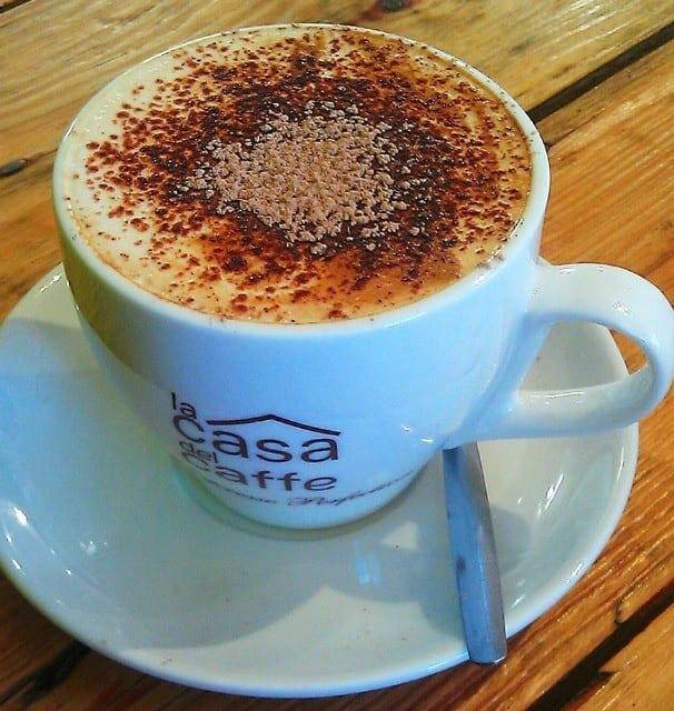 coffee at Tracies