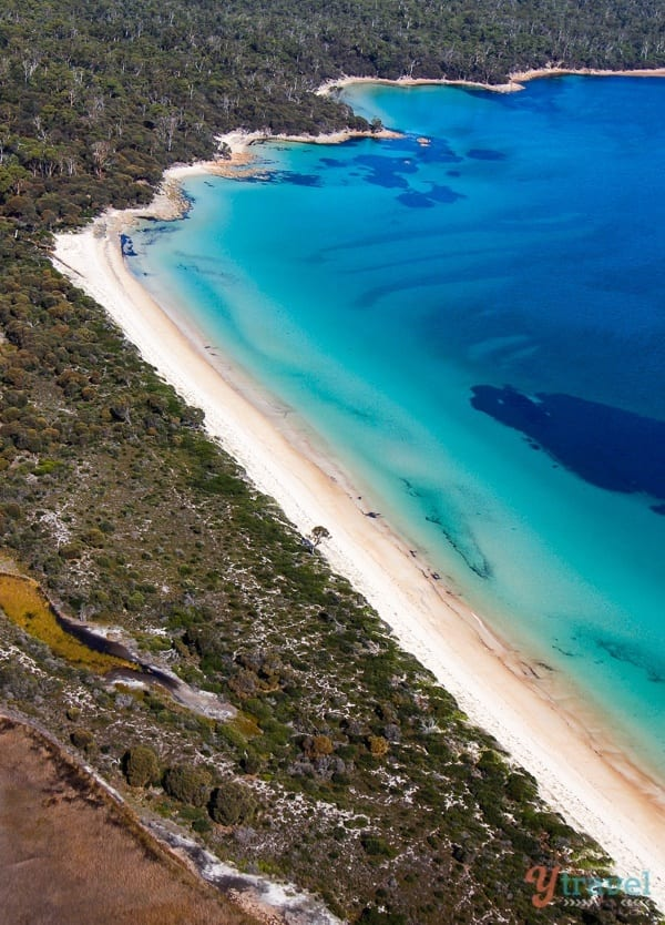 Visit stunning Hazards Beach in Tasmania, Australia