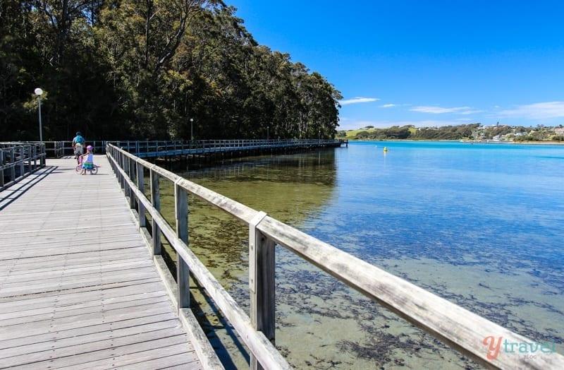 Boardwalk at Narooma, Australia