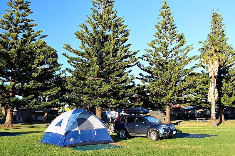 camping at Narooma