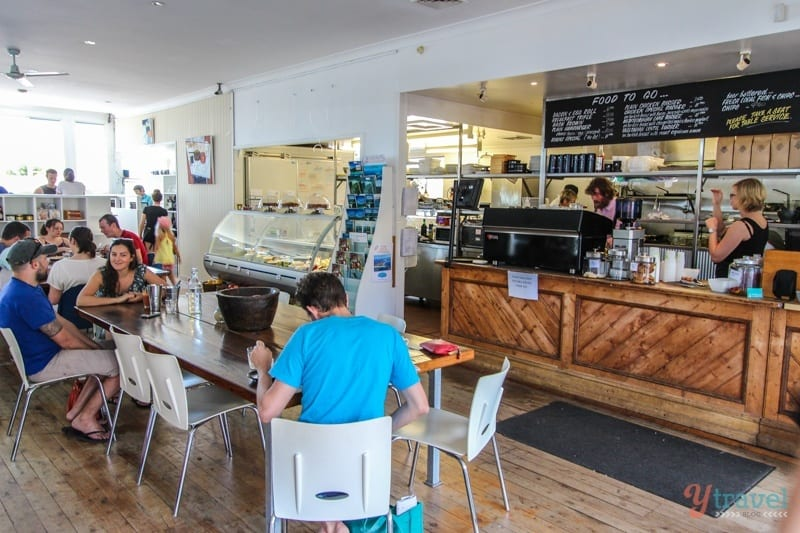 Hyams Beach Cafe, Jervis Bay, Australia