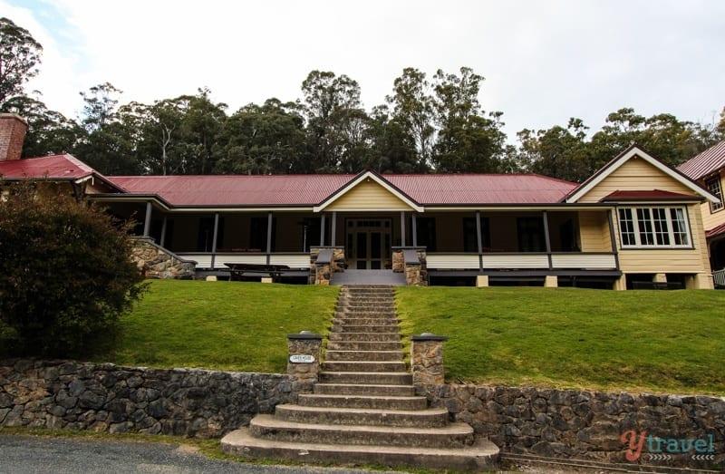Yarrangobilly Caves House, Snpwy Mountains, Australia