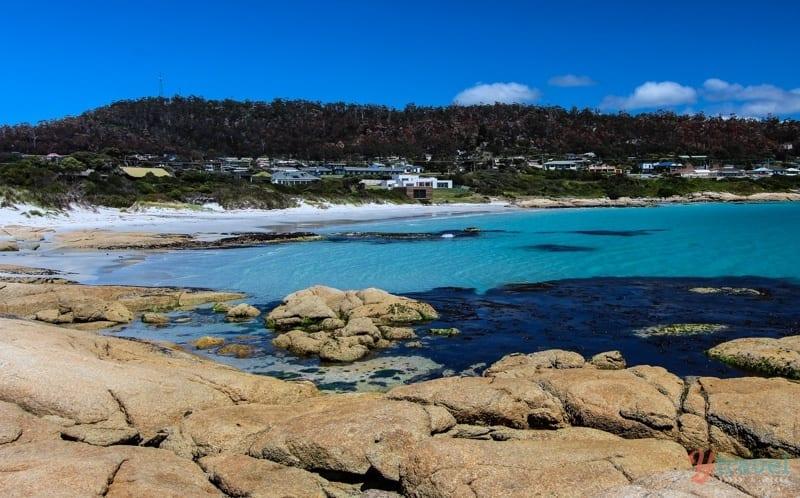 Playa Bicheno, Tasmania, Australia