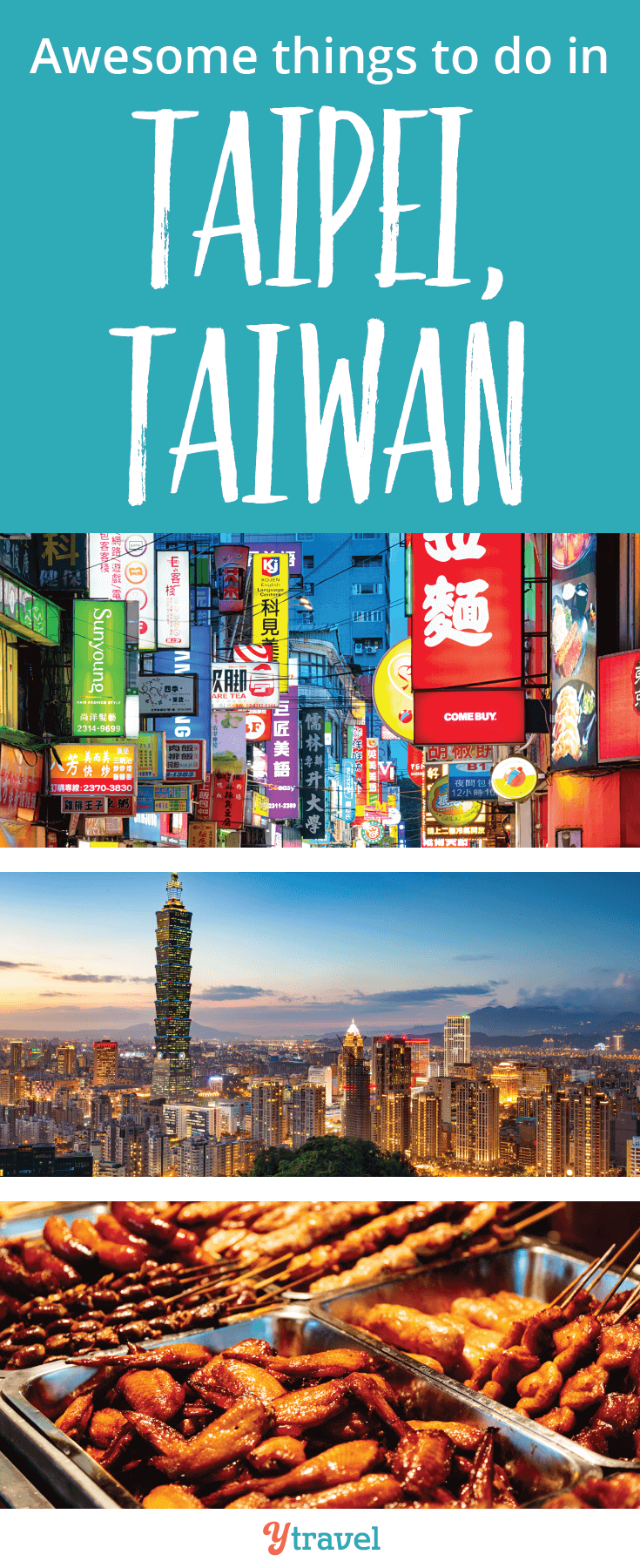 Looking for things to do in Taipei, Taiwan? The capital city is full of beautiful temples, world class restaurants and hospitable people!