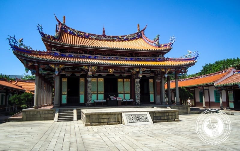 The Famous One Longshan Temple