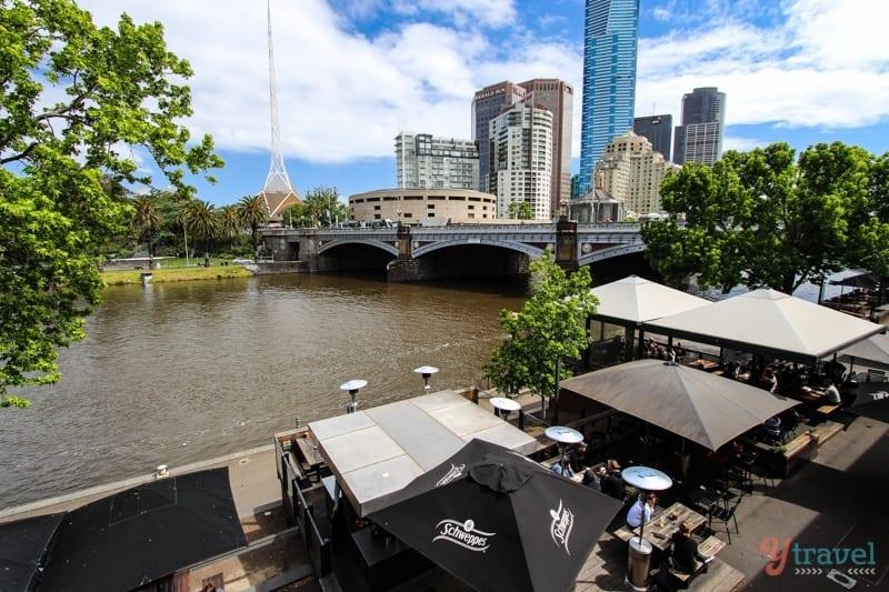 Discover Australia - Yarra River, Melbourne