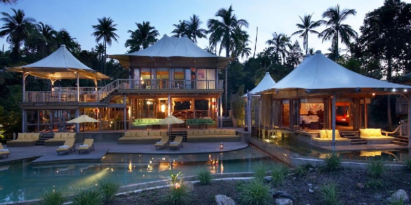 Soneva Kiri luxury koh kood beach resort in Thailand