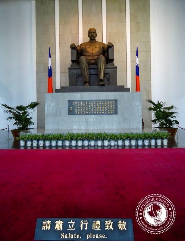 Sun Yat Sen Memorial Taipei Taiwan