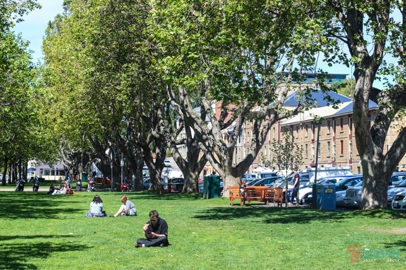 Discover Australia - Salamanca, Hobart, Tasmania