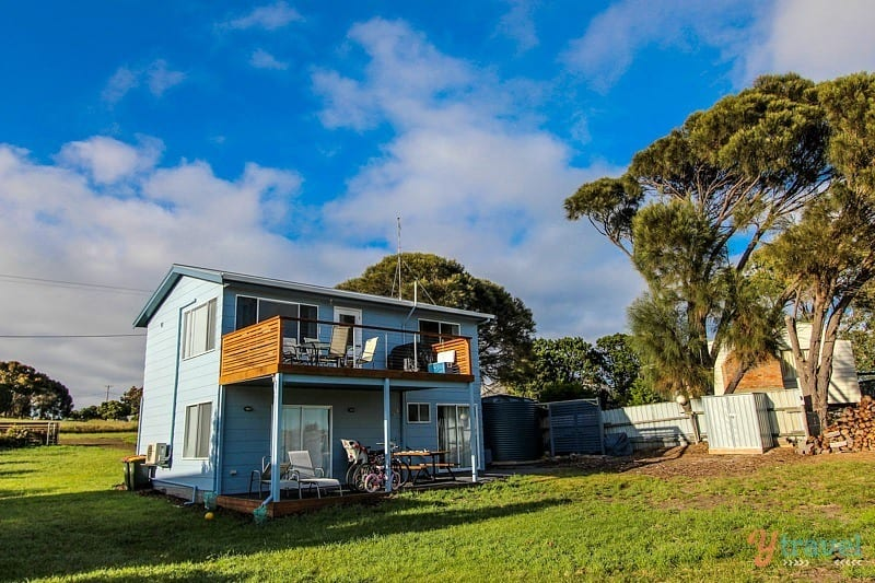 The Blue House, Coles Bay, Tasmania, Australia
