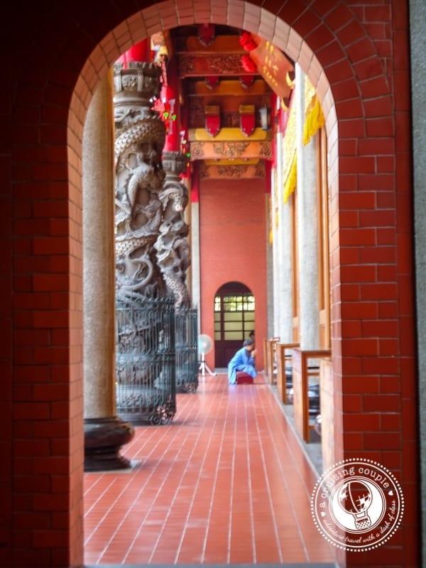 Xingtian Temple Taipei Taiwan