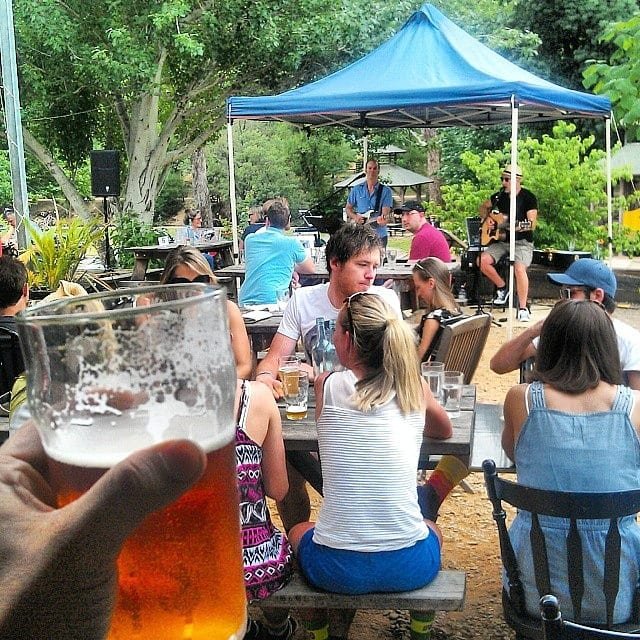 live music at Bright Brewery